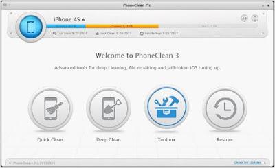 برنامج, موثوق, وفعال, لتنظيف, وصيانة, الايفون, والايباد, وأنظمة, iOS