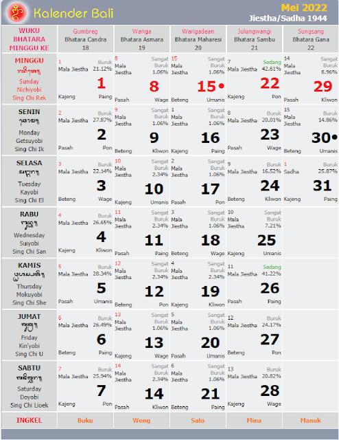 kalender bali mei 2022 - kanalmu