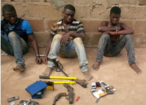 robbers arrested ogun state