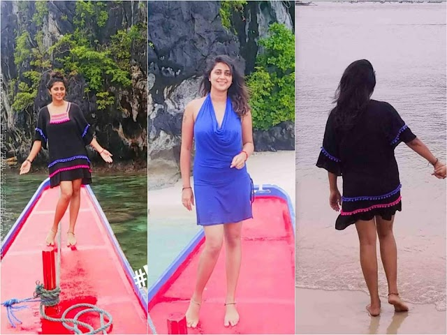 Kaniha Hot And Sexy Thighs Show Photos
