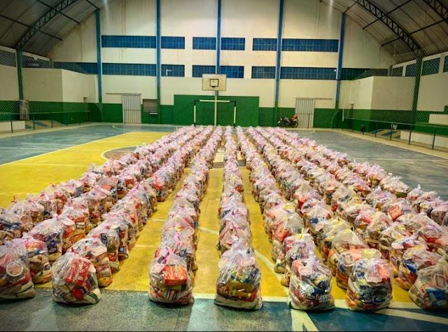 CARNAUBAIS RN-Prefeitura de Carnaubais beneficiará 600 famílias com cestas básicas