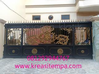 pagar klasik project taman mahkota