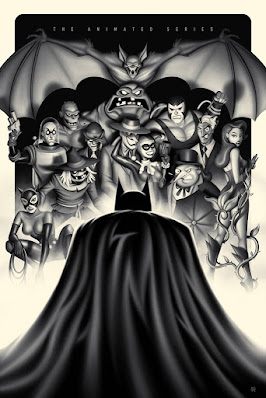 Batman: The Animated Series Screen Print by Steven Reeves x Bottleneck Gallery