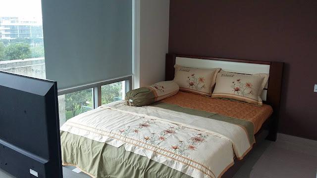 Officetel Golden King Phú Mỹ Hưng - phòng ngủ