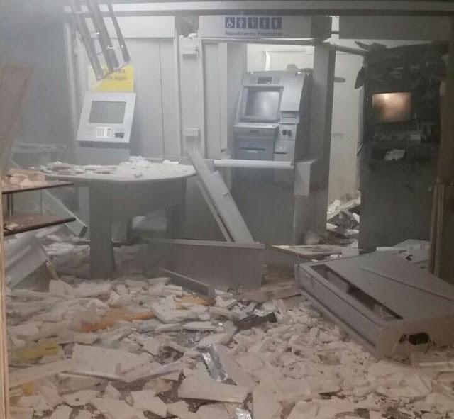 Criminosos explodem caixas eletrônicos de agência bancária em Passira, PE