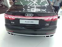 2018 Audi A8 back