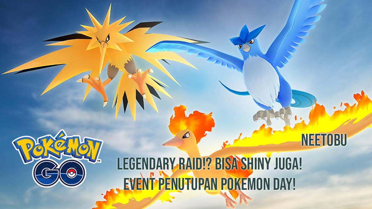 Gambar Event Penutupan Pokemon Day dengan Munculnya Kento Themed-Raid