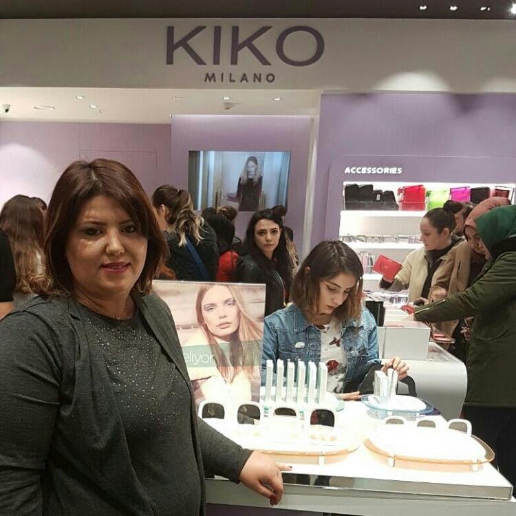 Kiko Milano Ankarada!