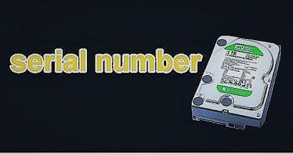 معرفة سيريال نمبر الهارد ديسك الخاص بك بدون برامج