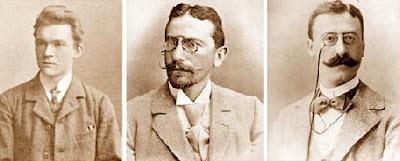 Ls ajedrecistas Leonhardt, Tarrasch y Mieses