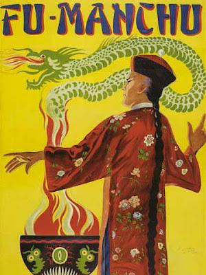 Fu Manchu, il diabolico cinese stereotipato dei libri di Sax Rohmer