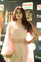 Nidhi Subbaiah Glamorous Pics in Transparent Peachy Gown at IIFA Utsavam Awards 2017  HD Exclusive Pics 31.JPG