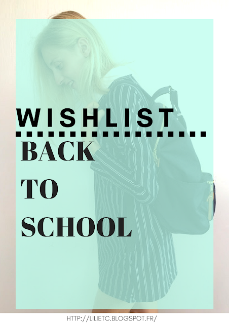 Wishlist Back To School