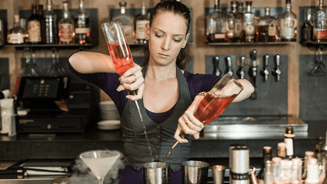 How old do you have to be to be a bartender in New York?
