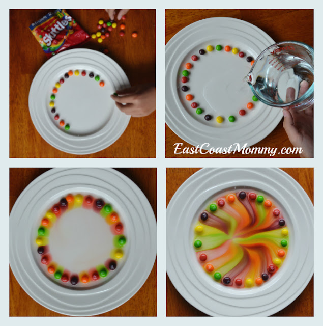 East Coast Mommy Simple Skittles Science Experiment