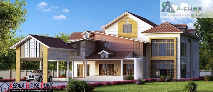Modern Contemporary Kerala Home Design