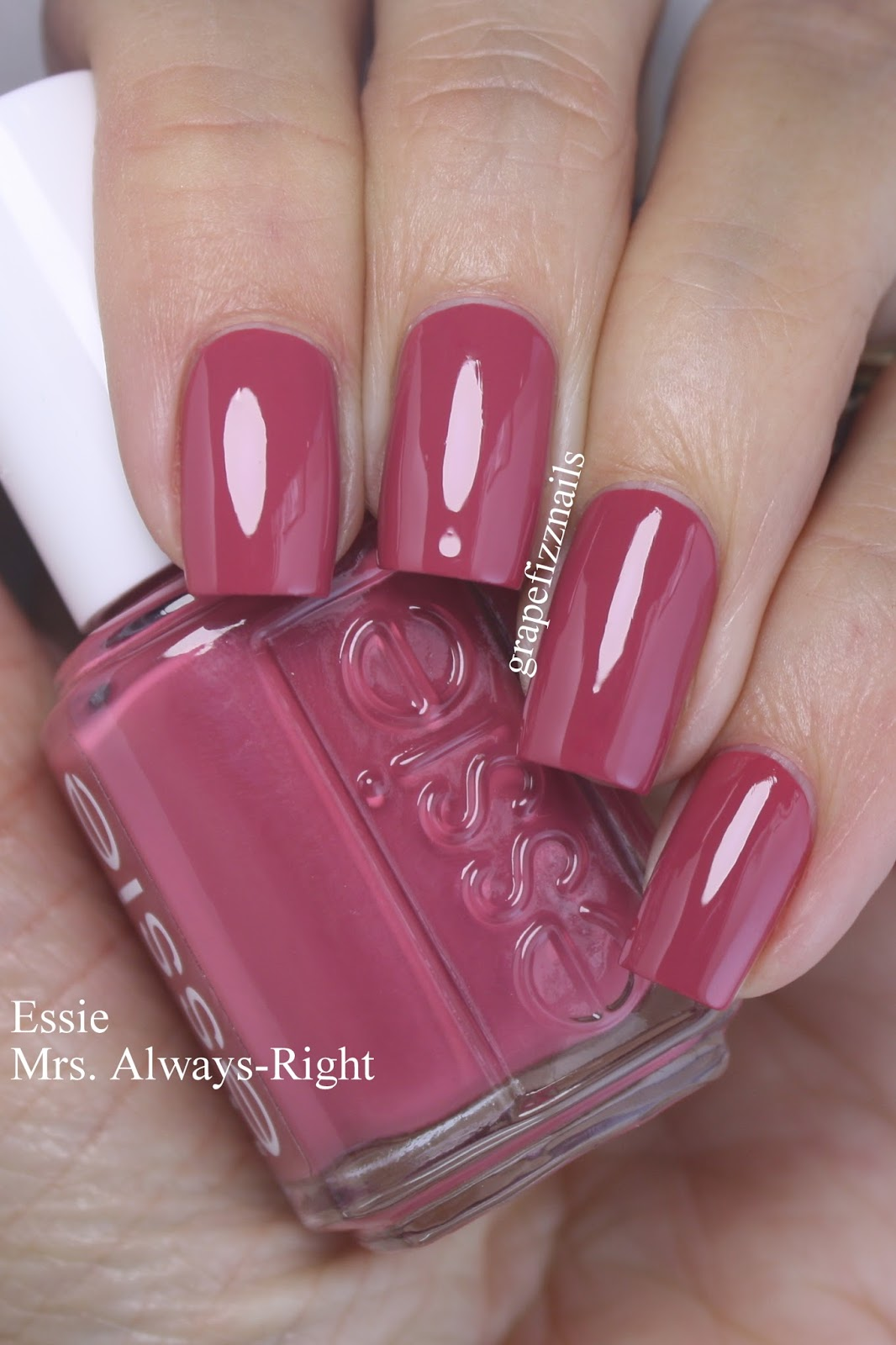 Mrs Always Right Collection Review: Grape Fizz Nails