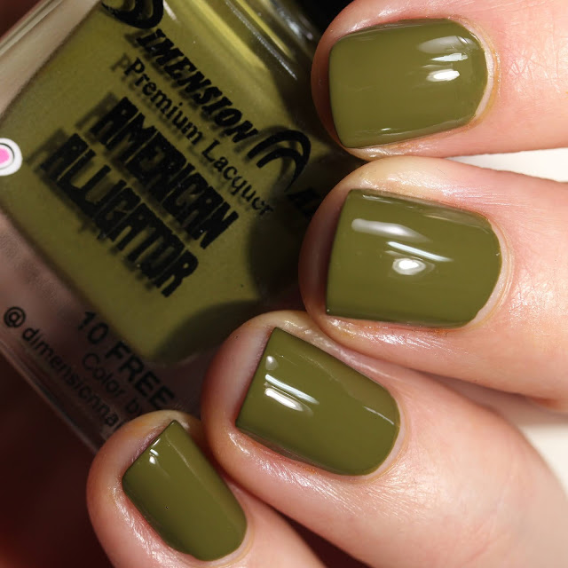 Dimension Nails American Alligator swatch