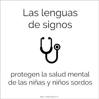 Las lenguas de signos protegen la salud mental de las niñas y niños sordos