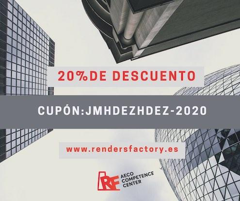 Cursos BIM Online (Cupon descuento 20% jmhdezhdez-2020 Rendersfactory)