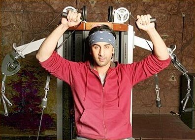 Ranbir Kapoor Body Workout