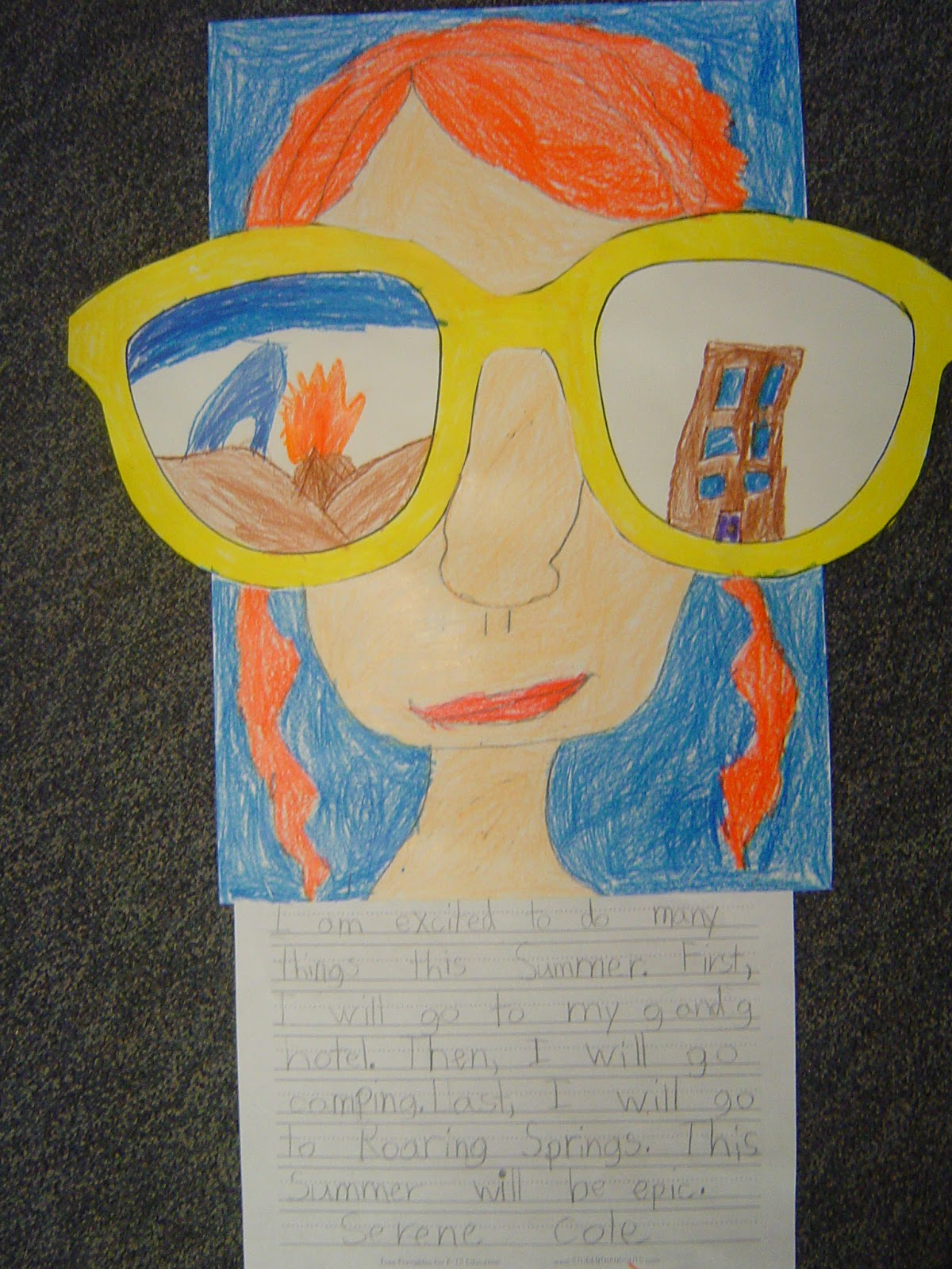 Mrs T S First Grade Class End Of The Year Projects