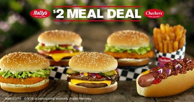 Checkers rally 39 s brings back 2 meal deal brand eating for Checkers fish sandwich