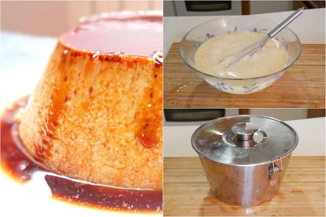 🍮 FLAN de kilo y medio EN 5 MINUTOS 🍮 (solo 3 ingredientes)