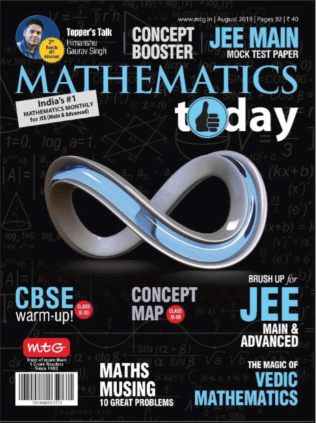 Mathematics-Magazine-August-2019-For-NEET-JEE-Exam-PDF-Book