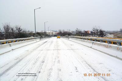 """Γέφυρα παγίδα στην Κατερίνη. (Σε λίγο αναλυτικό ρεπορτάζ της """"ΑΛΗΘΕΙΑΣ"""" για τους δρόμους στην Κατερίνη)"""