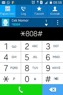 cara cek nomor kartu telkomsel simpati dan As