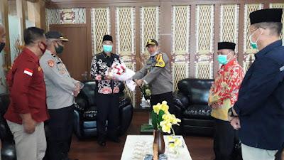 Polres Mura Anjangsana Ke Pemkab Dan DPRD Musi Rawas