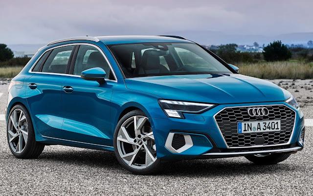 Novo Audi A3 Sportback 2021