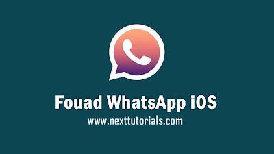 Download Fouad WhatsApp iOS v8.53 APK Latest Version 2020,fouad wa ios v8.53,aplikasi wa mod anti ban terbaik 2020,tema fouad whatsapp ios keren 2020