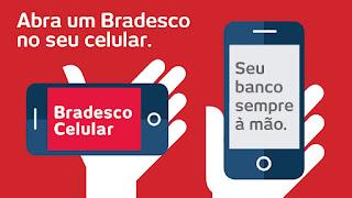 Como verificar saldo da conta Bradesco por Celular.