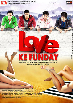 Love Ke Funday 2016 Full Hindi Movie Download HDRip 720p