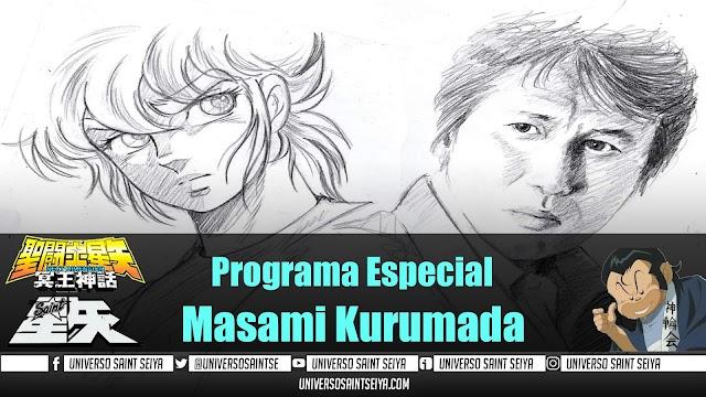 10x05 MASAMI KURUMADA - VIDA Y OBRA DEL CREADOR DE SAINT SEIYA