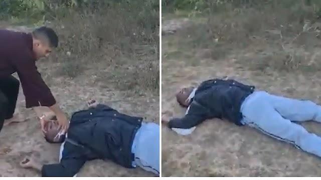 Vídeo: Assaltante aborda cristãos em monte e morre após oração de pastor