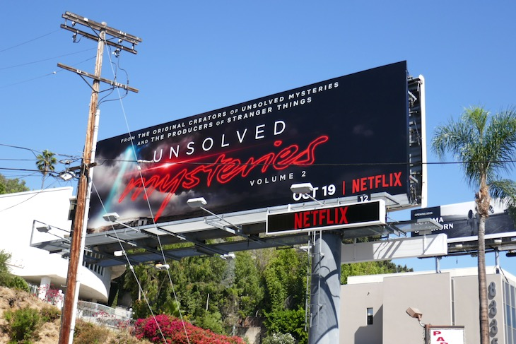 Unsolved Mysteries Volume 2 billboard