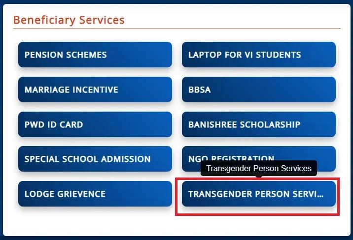 [Apply] Odisha Transgender Person Online Registration Form, Application Status 2021 at ssepd.gov.in