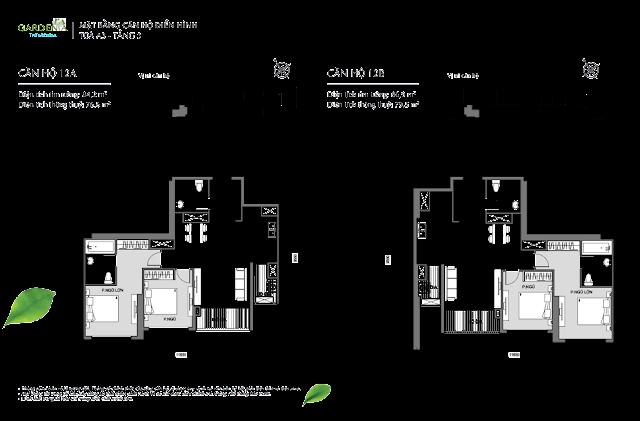 12A và 12B tầng 3 The Arcadia Vinhomes Gardenia