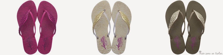 Coleção de sapatos Prepara by Anitta para Grendene.