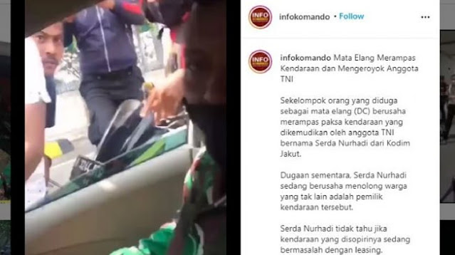 Kapendam Minta Polisi Usut Tuntas Debt Collector Kepung Prajurit TNI