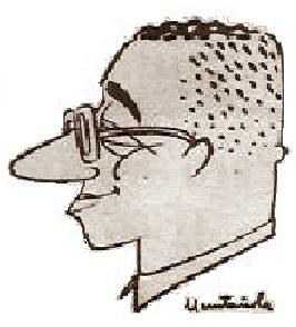 Caricatura del Rafael Saborido Carré