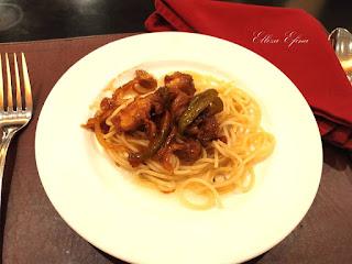 spaghetti chicken kungpow solo paragon