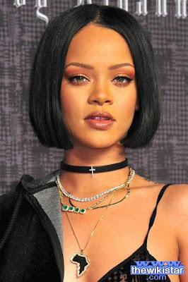 Rihanna, whose real name is Robin Rihanna Fenty.
