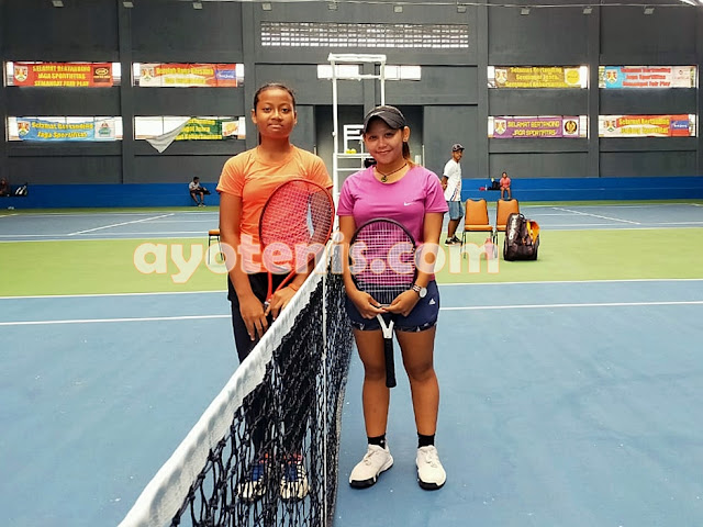 Diah Ayu Melenggang ke Perempat Final Kejurnas Tenis New Armada Cup XXIV