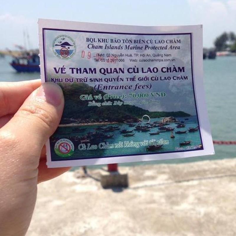 Vé đi tham quan Tour Cù Lao Chàm