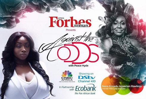 """Women are Vital to the development of a country"", Nana Konadu Agyeman Rawlings on Against The Odds with Peace Hyde"