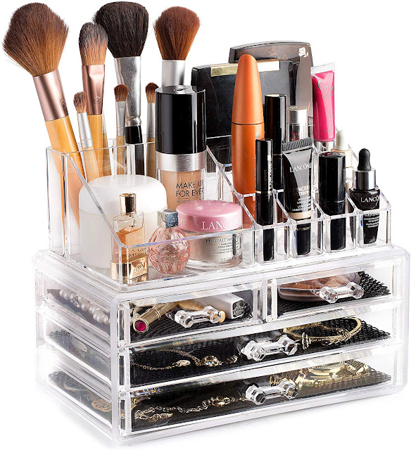 Clear Cosmetic Storage